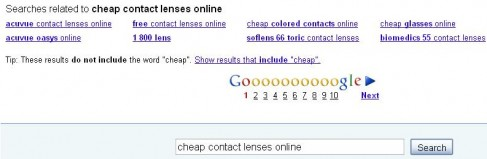 1cheap contact lenses