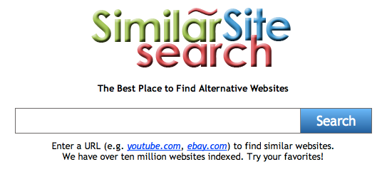 The Similar Site Search Logo
