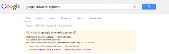 AdWords Express Ad Copy