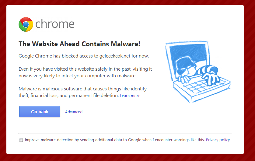 malware site example