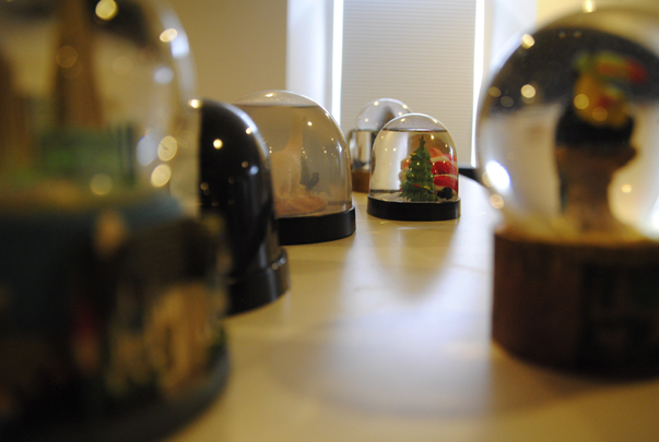 Snowglobes in the Seer Philadelphia Office