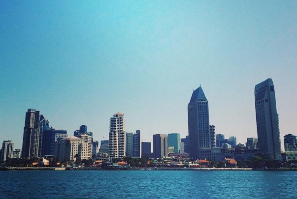 View of San Diego by Dave Zwickerhill
