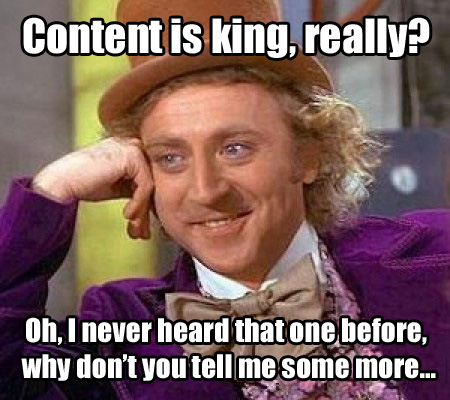 Creating content is bigger than just SEO 2