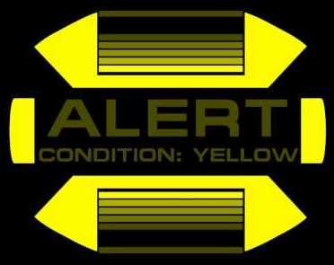 Yellow Alert Indicator