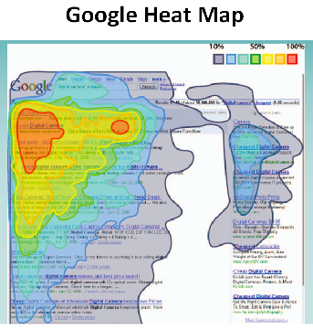 google heat map
