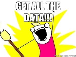 GET ALL THE DATA!!!
