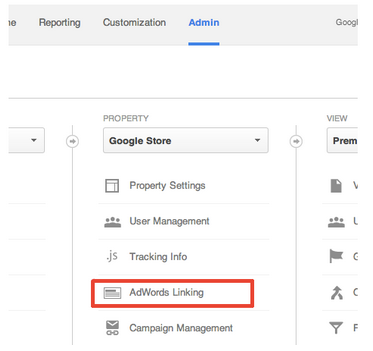 adwords-linking