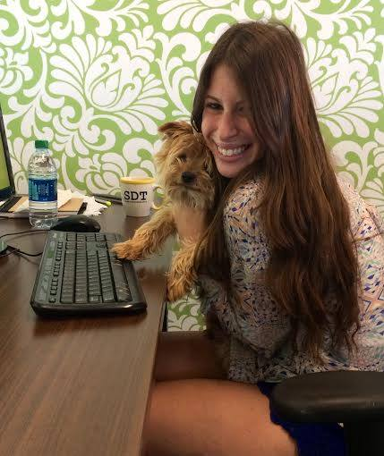 Intern and Dog