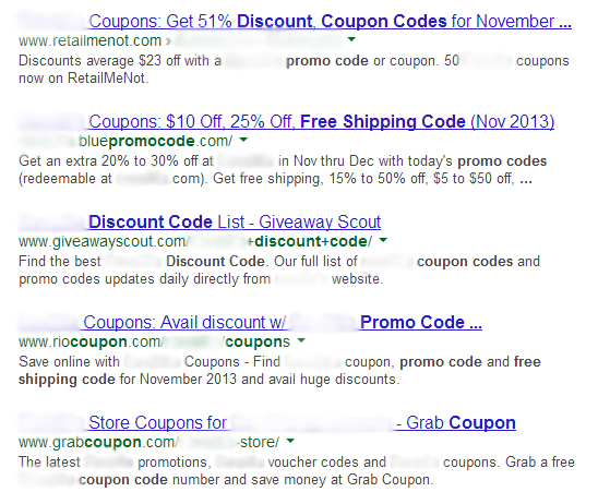 Seer eCommerce Case Study SERP