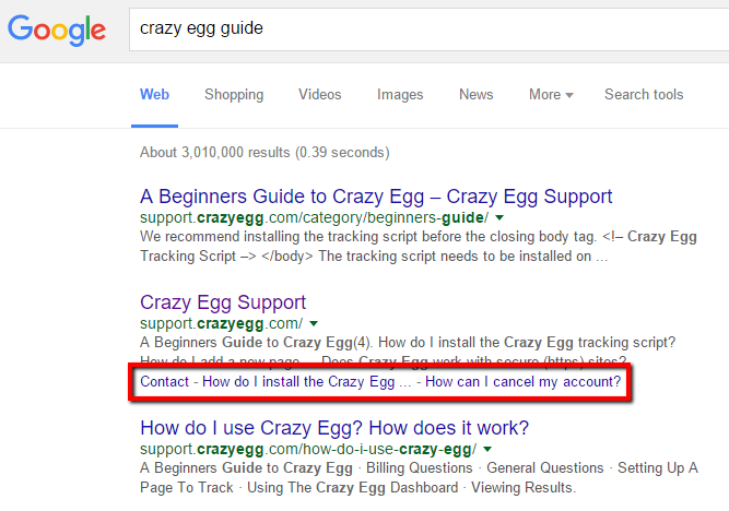 crazy-egg-guide-sitelinks