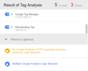 Google Tag Manager Assistant Example