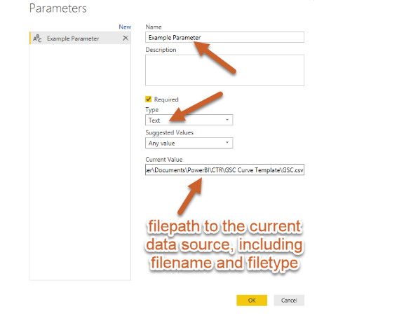 how to create a power bi template