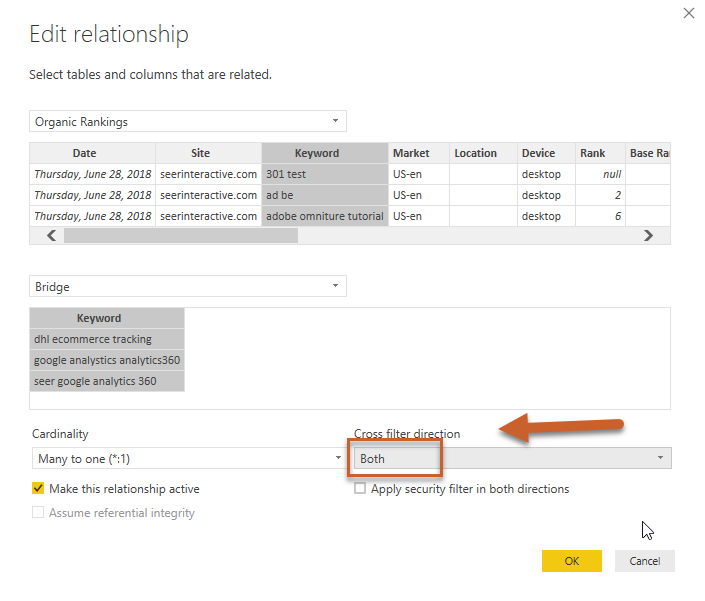 How to Join Many to Many with a Bridge Table in Power BI | Seer
