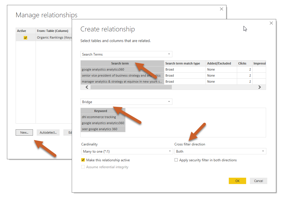 How to Join Many to Many with a Bridge Table in Power BI