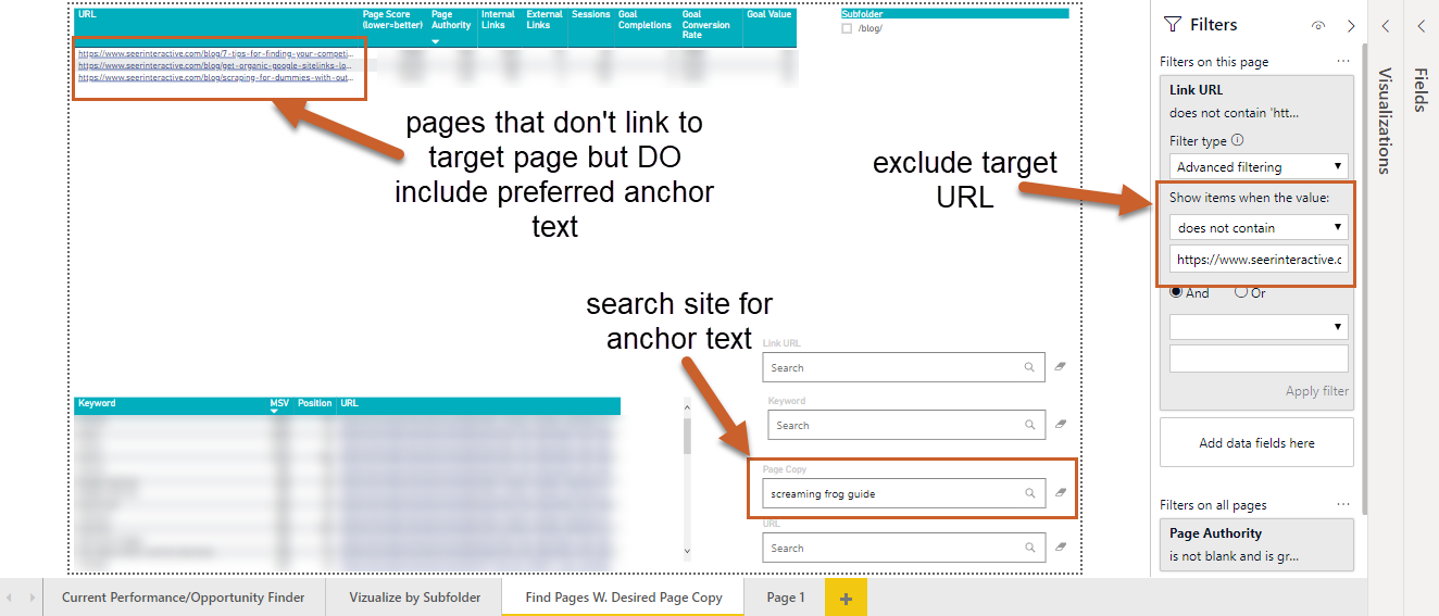 how to find internal linking opportunities
