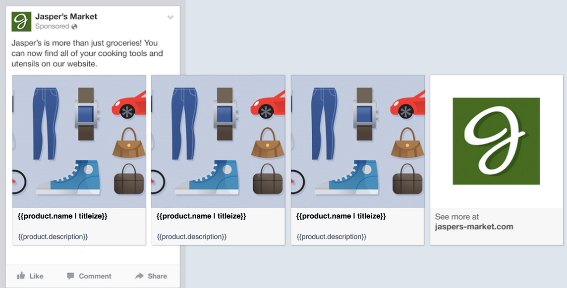 Facebook shopping campaigns