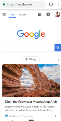 optimized title and image for Google Discover